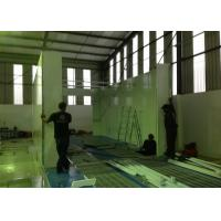 Quality Water Curtain Paint Spray Booth With Drying Oven Diesel Burner Heating Turbo Fan for sale