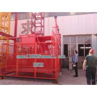 Wholesale SS100/100 Mini Materials Hoister 2*1000KG Load Two Cages Chain Elevator from china suppliers