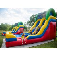 Buy cheap Giant eye-catching 15' Backyard Inflatable Water Slide Wet or Dry with PVC Tarpaulin material from wholesalers