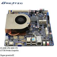 Wholesale NVIDIA GT730 Industrial PC Motherboard , I5 Mini ITX Industrial Motherboard 2GB GPU from china suppliers