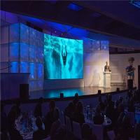 Quality P2.5 Conference HD LED Display Screen / Indoor LED Video Wall with Super Light Cabinet for sale