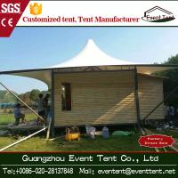 Wholesale PVC Coated Polyster Fabric Outdoor Family Camping Tents 10x10meters from china suppliers