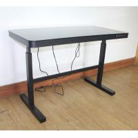 Wholesale Electric Lift Up Desk , Multi Function Height Adjustable Desk Wireless Charging , Computer Desk , Lift Computer Desk from china suppliers