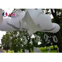 Wholesale Outdoor Customized Inflatable Party Decoration PVC Cloud Balloons With LED Light from china suppliers