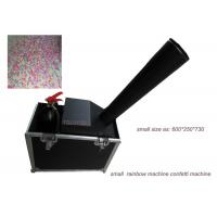 Wholesale Black Special Effect Equipment / Mini Co2 Confetti Blower Rainbow Machine With Manual Control from china suppliers