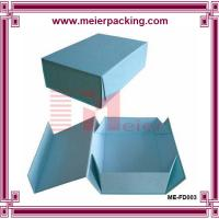 Wholesale High Quality Blue Chipboard Flip Top Boxes with Magnetic Catch ME-FD003 from china suppliers