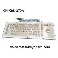 Wholesale Mounted 67 Keys Industrial Computer Keyboard , Dust Proof Keyboard In Metal from china suppliers