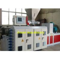 Quality Wood Plastic Composite Plastic Profile Production Line 800mm Door Width for sale