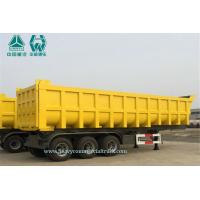 Wholesale 24 cbm 3 axles U Shape Dump Semi Trailer from china suppliers