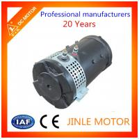 Wholesale Custom 48 Volt Series Wound Forklift Drive Motor With 100% Copper Wire from china suppliers