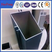 Quality invisible aluminium profiles for curtain walls,OEM  shape aluminium partitions profiles for sale