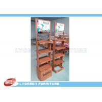 Wholesale OEM / ODM beverage Display Stands customized shopping displays from china suppliers