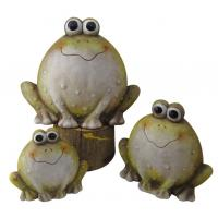 Wholesale Frogs Animal Garden Ornaments , Outdoor Animal Statues For Backyard from china suppliers