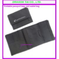 Wholesale Fabric foldable passport card bag, fabric card wallet bag from china suppliers