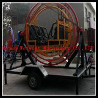 Wholesale newest gyroscope at low price/ rotating human gyroscope with trailer/outdoor human gyroscope for sale from china suppliers