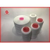 Wholesale Z / S Twist 100% Spun Polyester Single Yarn For Sewing , Polyester Weaving Thread from china suppliers