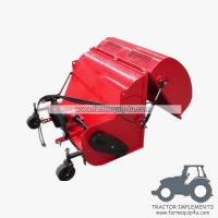 Wholesale FMC120 Farm implements tractor 3point flail mower with collector from china suppliers