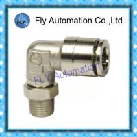 Wholesale 90 degree right angle can be rotated Pneumatic Tube Fittings PL series from china suppliers