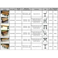 Wholesale WPC park benches summary from china suppliers