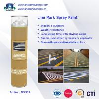 Wholesale Acrylic Aerosol Line Mark Floor / Road Marking Spray Painting 750ml Weather Resistance from china suppliers