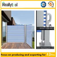 Buy cheap Outdoor Retractable Aluminium Side Awning from wholesalers