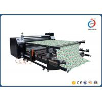 Buy cheap Rotary Sublimation Heat Transfer Machine For Garment 1.7m Width 420mm Diameter from wholesalers