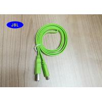 Quality PVC Jacket Green Flat USB 3.1 Type C Cable , USB 3.1 Type C Connector Cable for sale