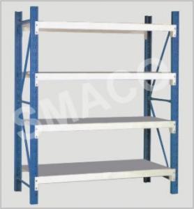 Buy cheap Customized Optimal Space Utilization Medium Duty Racks Long Span Shelving 1800*600*2400mm from wholesalers
