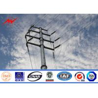 Wholesale 220kv High Strength Steel Power Pole For Electrical Distribution Line Project from china suppliers