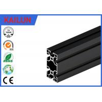 Wholesale Black Anodised V - Slot Aluminum Extrusion Section for Assembly Line Profile 80 MM X 40 MM from china suppliers