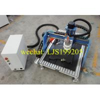 Wholesale Simple Wood Desktop CNC Router Machine Hiwin Rails With Mach3 Controller from china suppliers