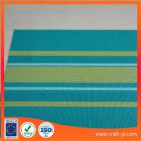 Buy cheap Color bar Textilene mesh Fabric 2X1 woven strip-type color for leisure chair or beach chair from wholesalers
