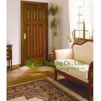 Wholesale Wood Color Superior durability fiberglass SMC door For Villas/Apartment, 8 feet height and 3 feet width from china suppliers