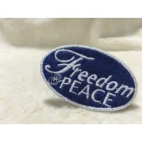 Wholesale Cool Uniform Label Custom Embroidered Patches Felt Patches For Clothing Flat Surface from china suppliers