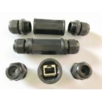 Quality Ethernet Waterproof RJ45 Inline Couplers / Adapters For Network Extender Network Connectors for sale