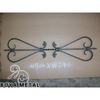 Quality Interior Outdoor Wrought Iron Stair Railings for sale
