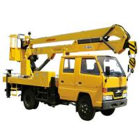 Quality Truck Mounted Lift 9.7m , 2 Ton Truck Mounted Aerial Lift for sale