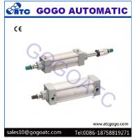 Wholesale Stroke Adjustable Aluminium Compact Air Cylinders Pneumatic Components SI Series ISO6431 from china suppliers