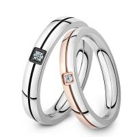 Wholesale Bulk sale women and mens wedding  stainless steel rings wholesale jewelry from china suppliers