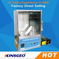 Wholesale Plastic Flammability Test Chamber / Apparatus , 45°Combustion Flammability Test Equipment from china suppliers