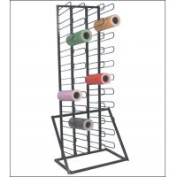 Wholesale organizer rack Rolling Floor Rack for Vinyl Roll Storage wall mount vinyl rack mask tape rack from china suppliers