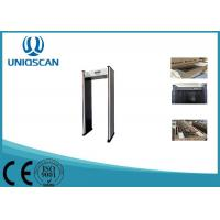Wholesale 18 Zones Security Walk Through Gate For Airport , Safty Walk Through X Ray Machine from china suppliers