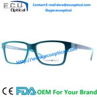 Buy cheap Europe market optical frames acetate colorful design from wholesalers