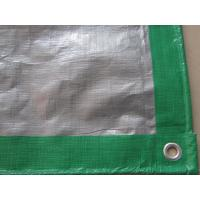 Wholesale green color waterproof and UV treatment HDPE TARPAULIN SHEET from china suppliers