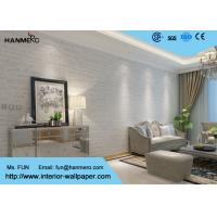 Wholesale Living Room 0.53*10M Modern Particle Removable Non - woven Wallpaper from china suppliers