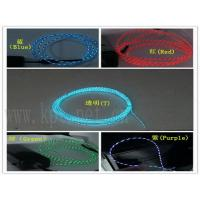Wholesale dynamic neon el chasing wire,el wire moving lighting from china suppliers