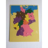 Wholesale Montessori Materials -Puzzle of Germany 57*45cm from china suppliers
