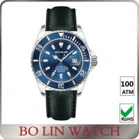 Wholesale Deep Sea Diving Classic Style Stainless Steel Dive Watch With Leather Strap ETA Movement from china suppliers
