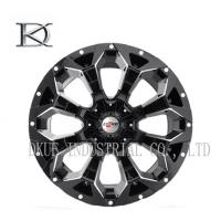 Wholesale Concave Forged Black Wheels 4X4 17 Inch Rims 4 X 4 Alloy Wheels For SUV from china suppliers