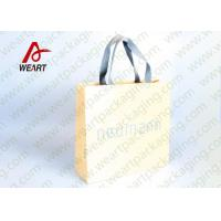 Wholesale Cotton Rope LOGO Printable Promotional Paper Bags Small Size OEM from china suppliers
